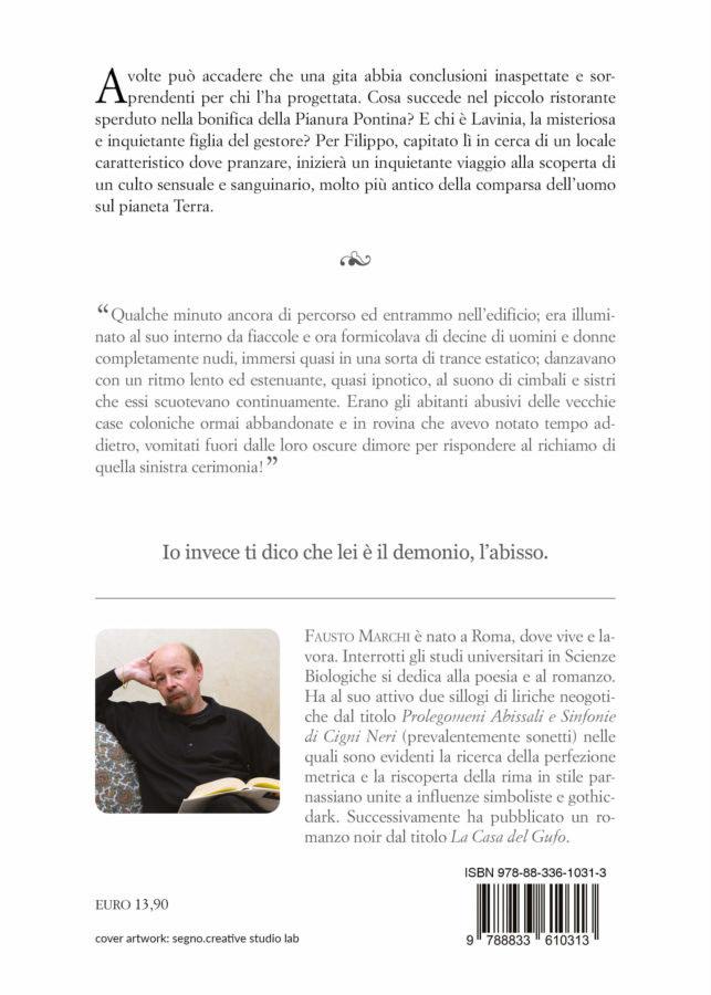 9788833610313   La vestale di Dagon   Fausto Marchi