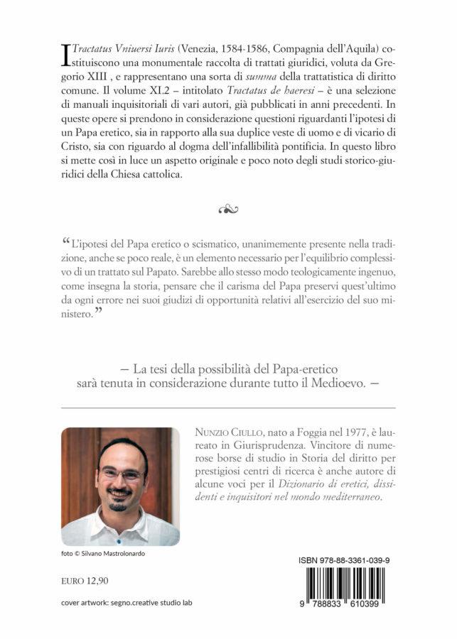 9788833610399 | L'eresia del Papa | Nunzio Ciullo
