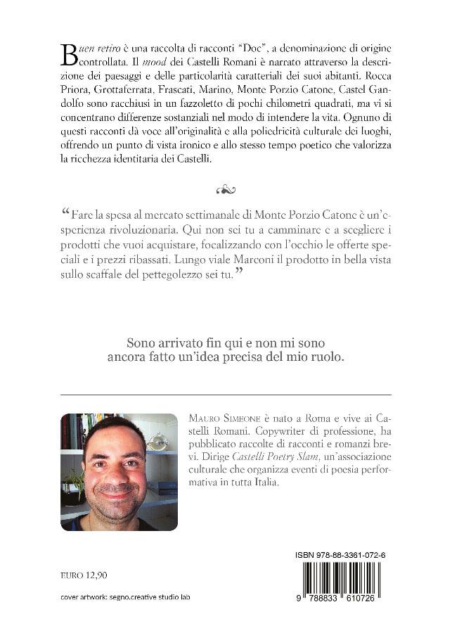 9788833610726   Buen retiro   Mauro Simeone